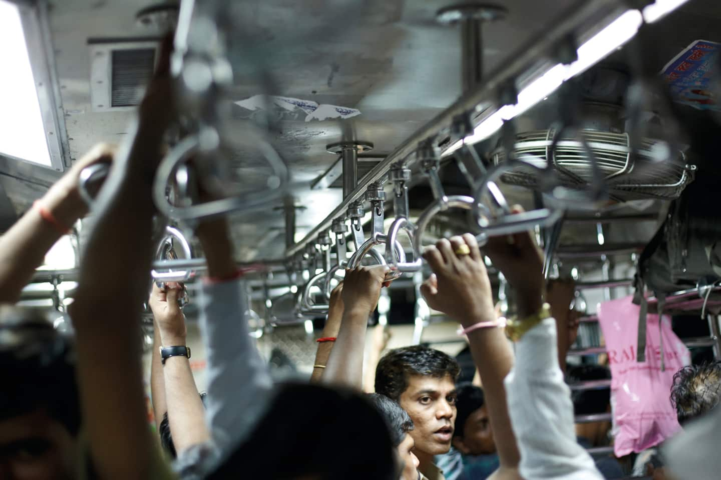 Sustainable urbanization - Myth or reality?, People in train
